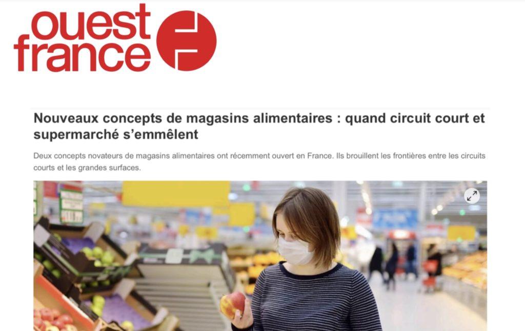 Le concept d'Ô FERMIER cité en exemple dans cet article de Ouest-France