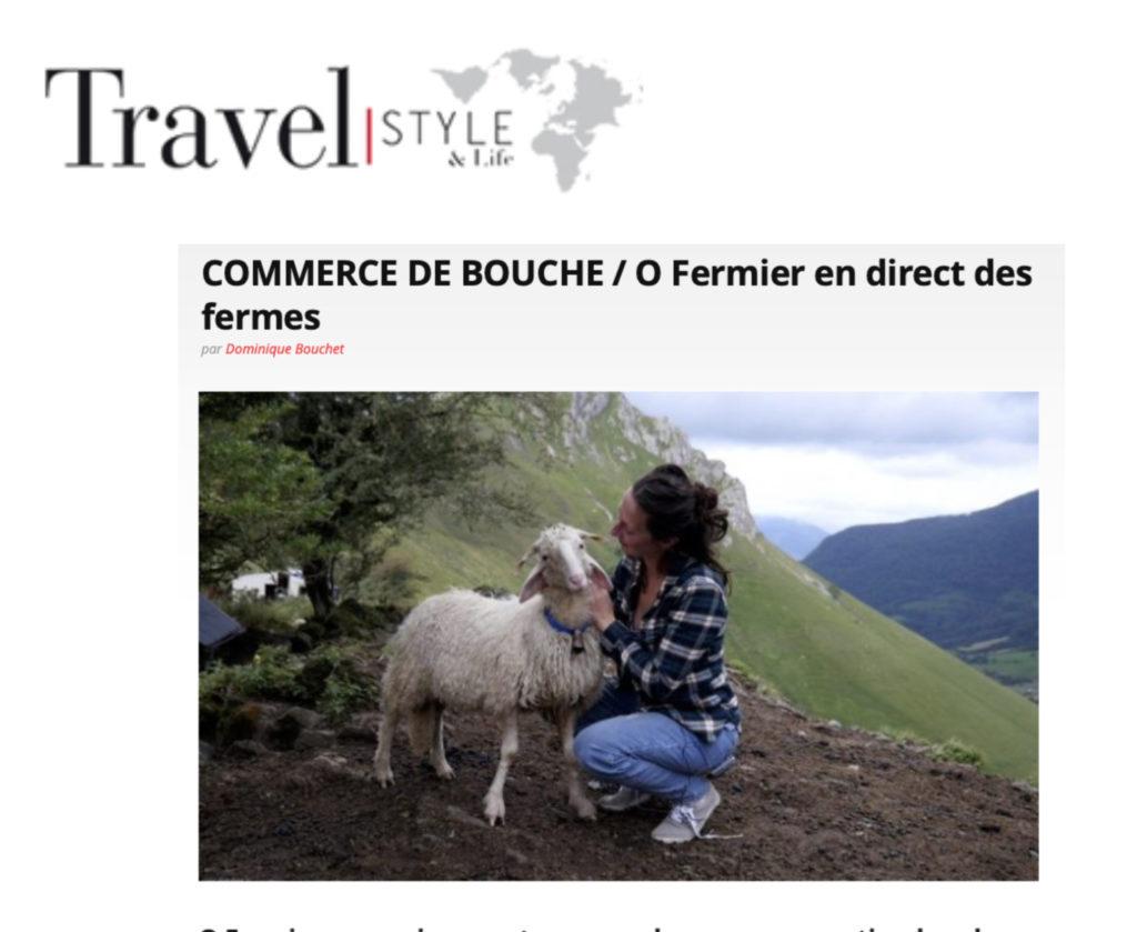 Travel Style & Life parle du menu spécial Saint-Valentin concocté par Ô FERMIER